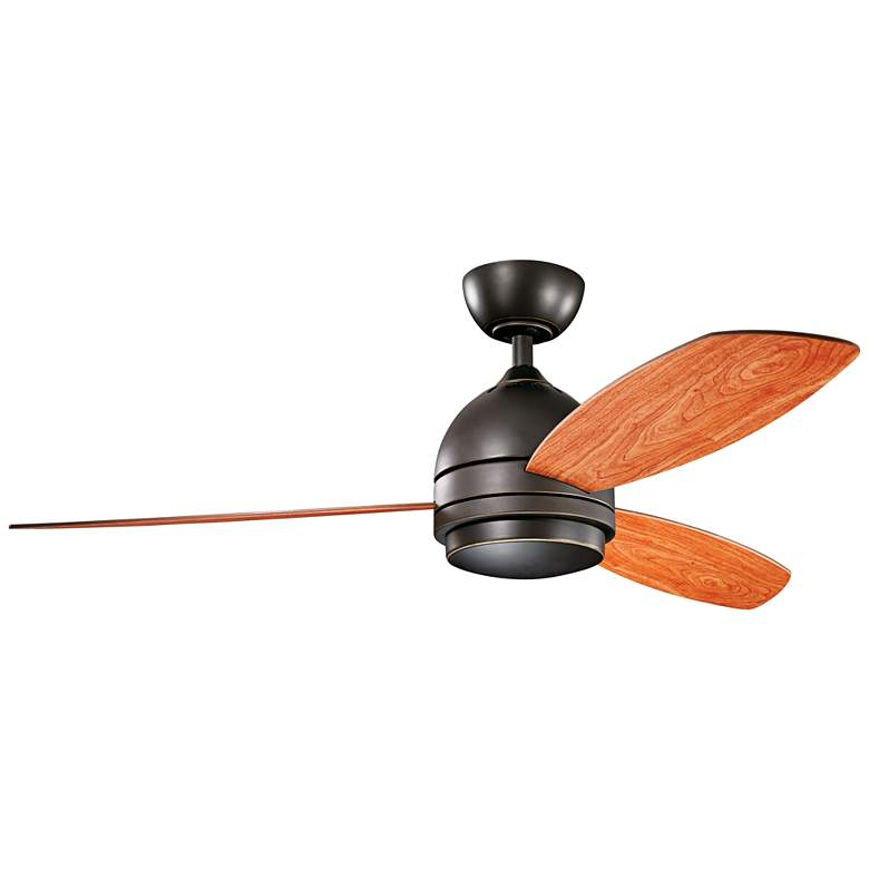 "52"" Kichler Vassar Olde Bronze LED Ceiling Fan more views"
