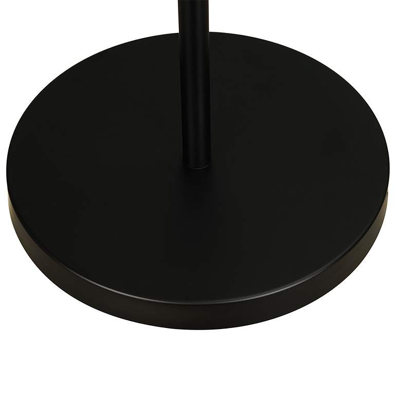 Matte Black Adjustable LED Track Tree Floor Lamp more views
