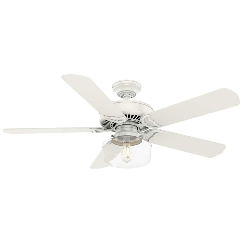 "54"" Casablanca Panama Sun Fresh White LED Ceiling Fan more views"