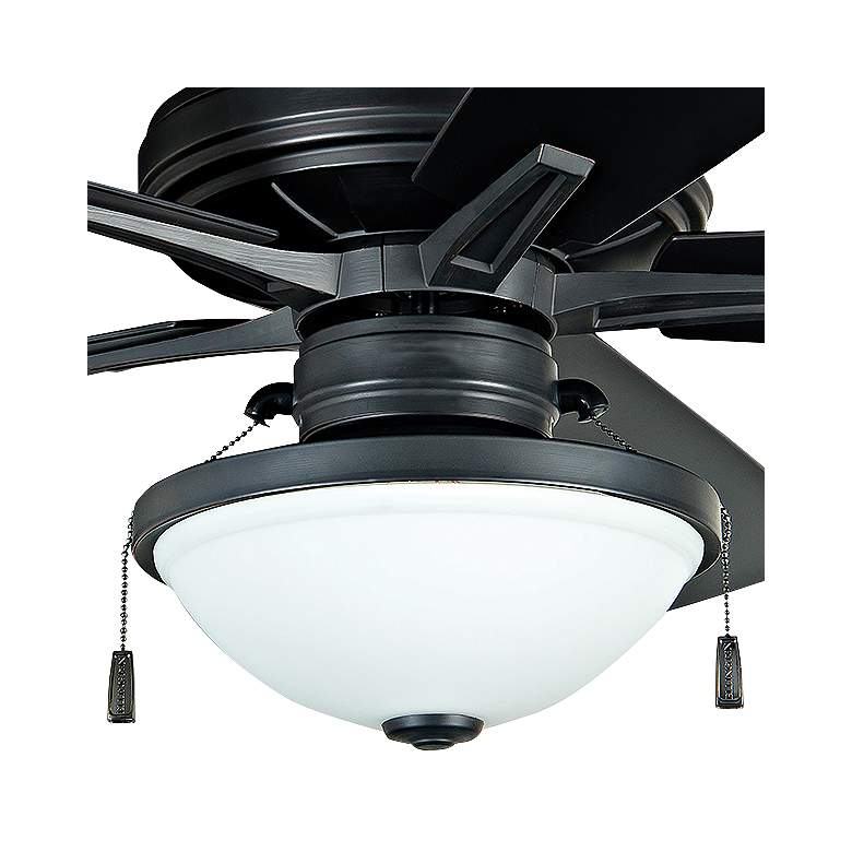 "52"" Riverfront Aged Bronze Brushed LED Outdoor Ceiling Fan more views"
