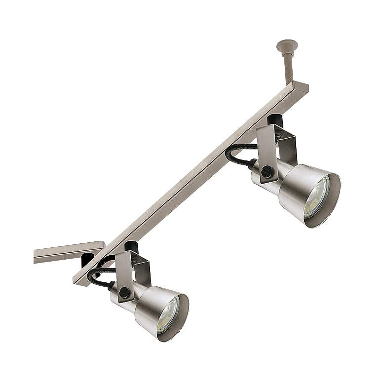 Eglo Trillo 6-Light Brushed Nickel LED Track Fixture more views
