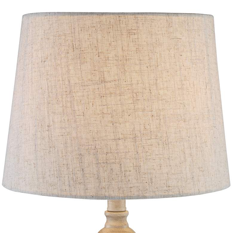 Claude Beige Washed Accent Table Lamps Set of 2 more views