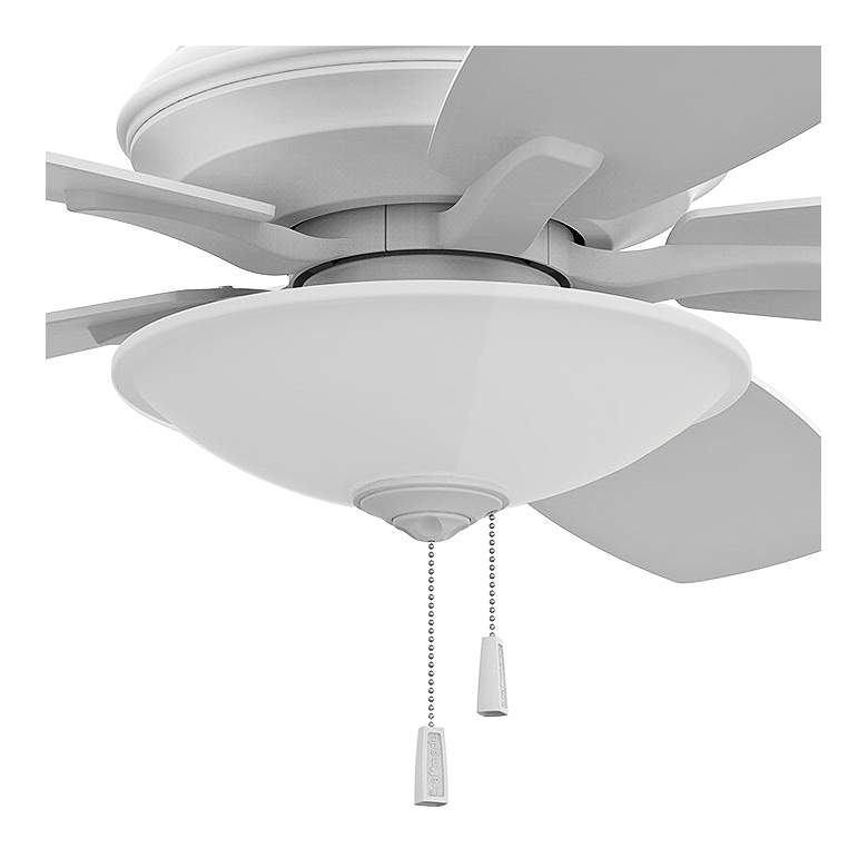 "52"" Craftmade Jamison White LED Ceiling Fan more views"