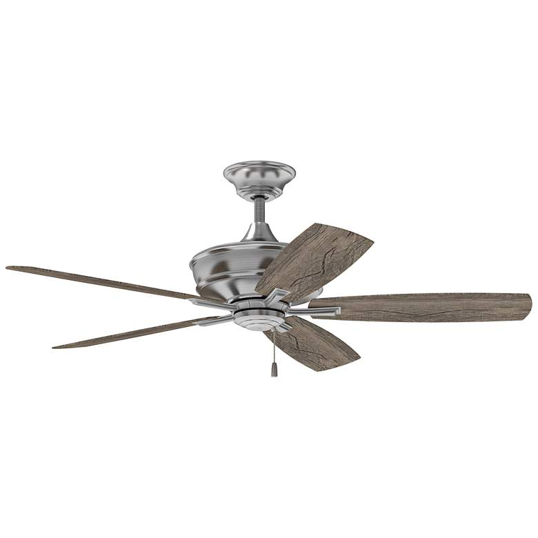 "56"" Craftmade Sloan Brushed Polished Nickel Ceiling Fan more views"