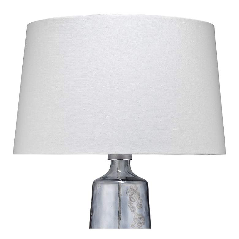 Jamie Young Patagonia Clear And Plum Glass Table Lamp ...