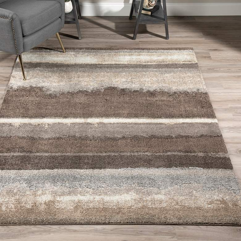"Dalyn Antigua 3'3""x5'3"" Mocha Rectangular Area Rug more views"