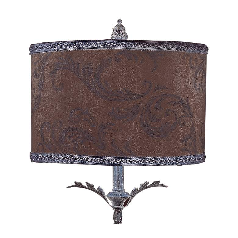 Acanthus Antique Style Twisted Table Lamp more views