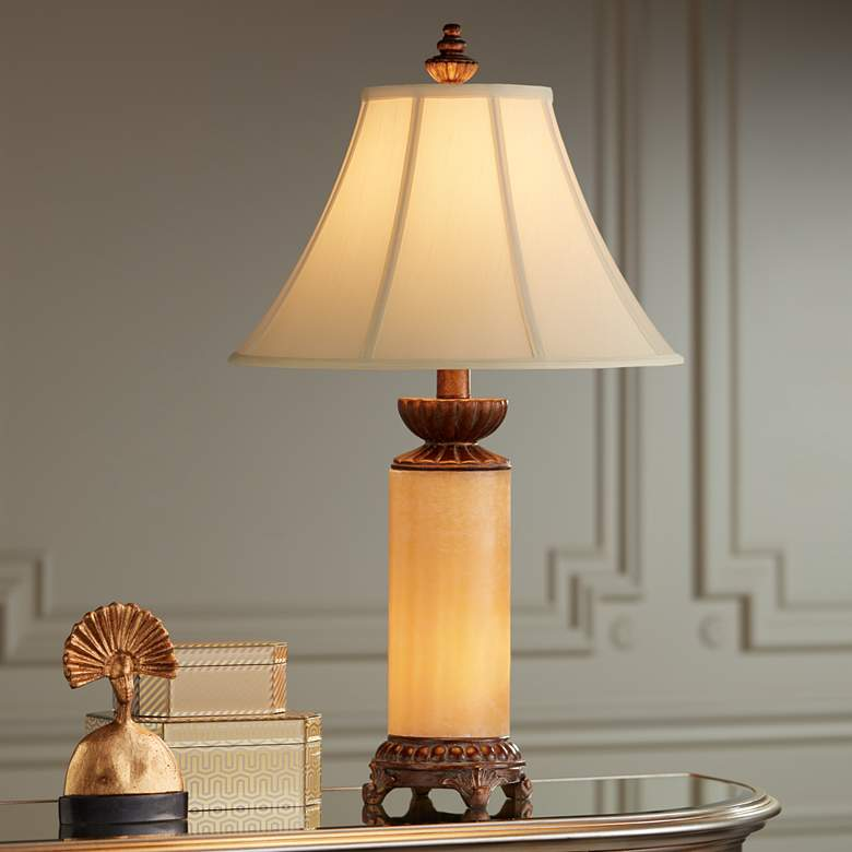 Onyx Stone Night Light Table Lamp more views