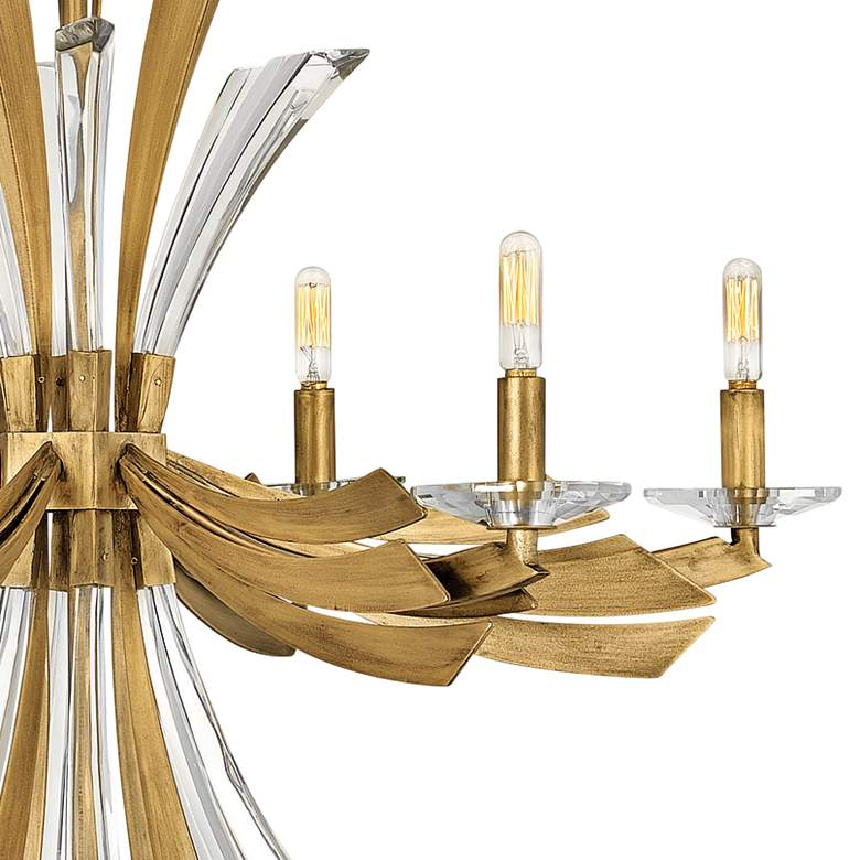 "Hinkley Vida 29 1/4""W Burnished Gold 6-Light Chandelier more views"