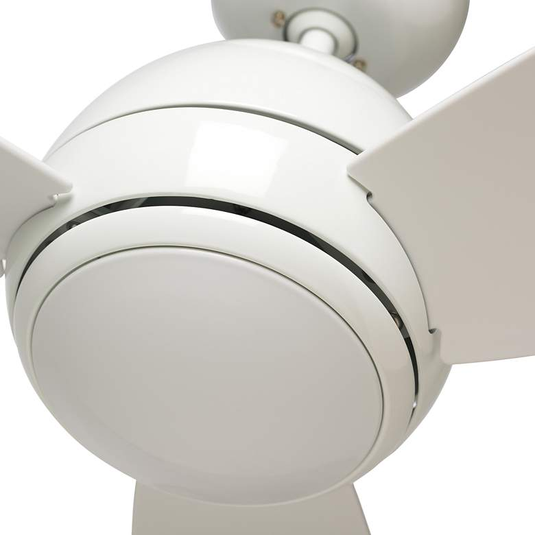 "52"" Emerson Curva Appliance White LED Outdoor Ceiling Fan more views"