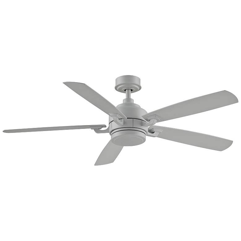 "52"" Fanimation Benito V2 Matte White LED Damp Ceiling Fan more views"