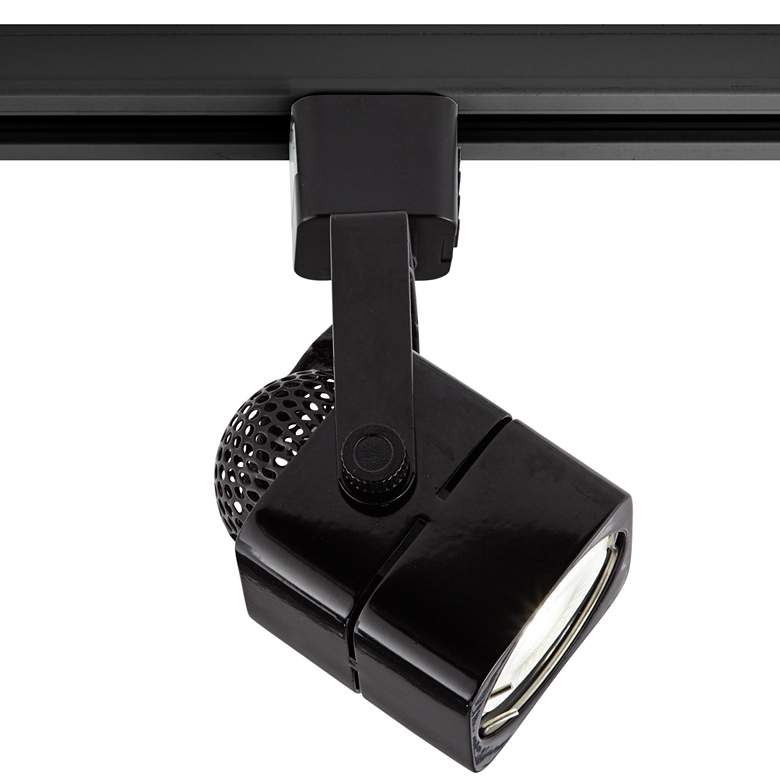 Black Square 6.5 Watt LED Bullet Head for Juno Track System more views