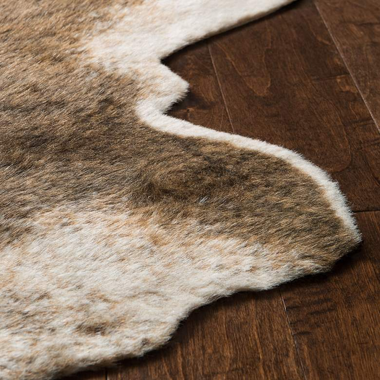 "Loloi Grand Canyon GC-01 5'x6'6"" Camel and Beige Area Rug more views"