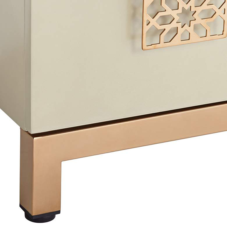 "Lace 31 1/4"" Wide 2-Door Wood Accent Cabinet more views"