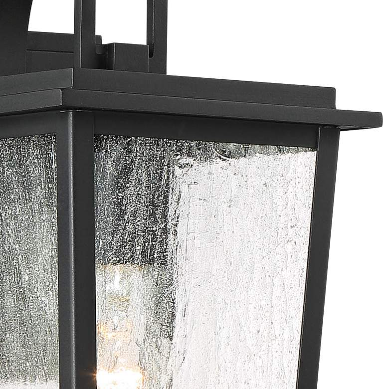 "Cantebury 14 1/4"" High Sand Black Outdoor Wall Light more views"