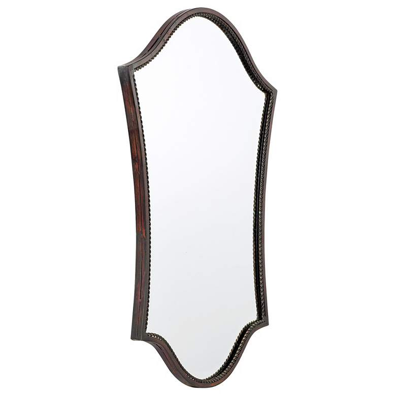 "Uttermost Abra Bronze 20"" x 30"" Wall Mirror more views"