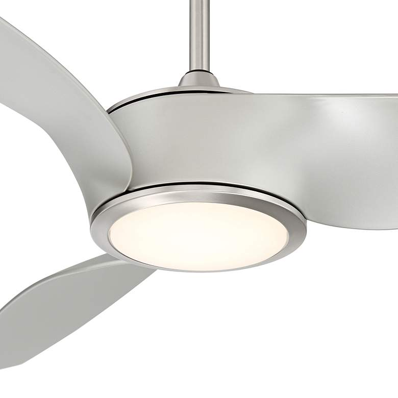 "56"" Casa Como Brushed Nickel LED Ceiling Fan more views"