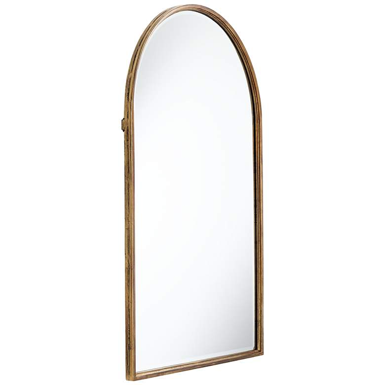 "Uttermost Clara Gold 24"" x 39"" Arch Top Wall Mirror more views"