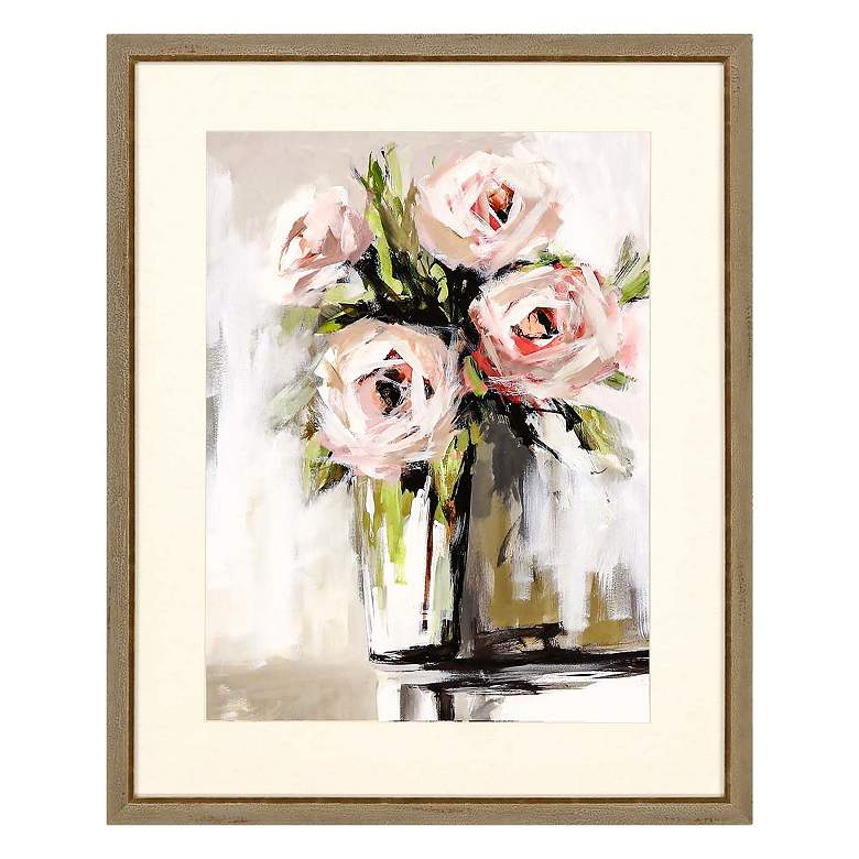 "Spring Bouquet 32"" High 2-Piece Framed Giclee Wall Art Set more views"