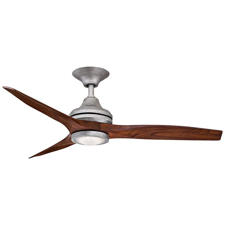 "48"" Fanimation Spitfire Galvanized Damp Ceiling Fan more views"