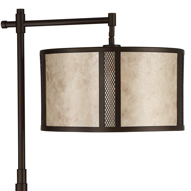 Matteo Mica Shade Downbridge Floor Lamp more views