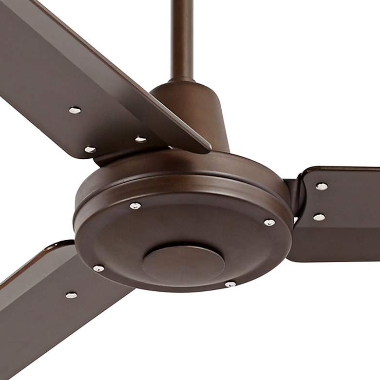 "52"" Plaza DC Oil-Rubbed Bronze Damp Rated Ceiling Fan more views"