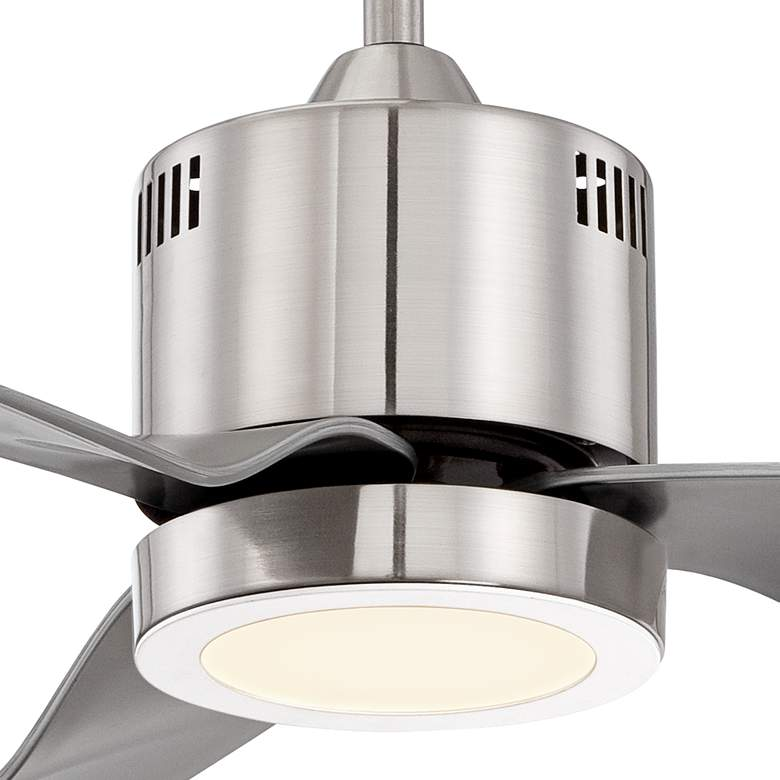 "52"" Visionary™ Brushed Nickel LED Ceiling Fan more views"