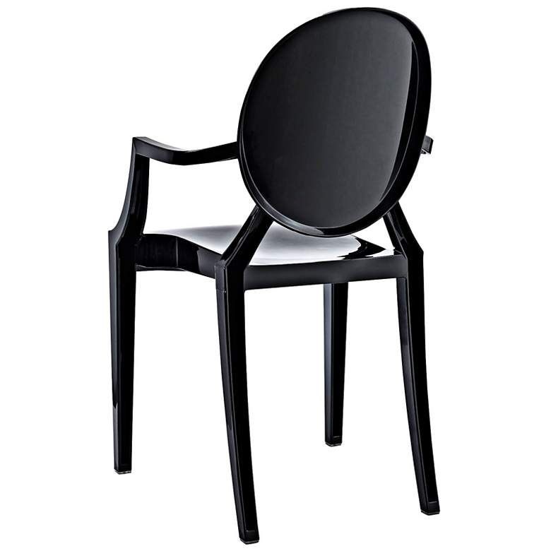 Casper Molded Black Indoor/Outdoor Dining Armchair more views