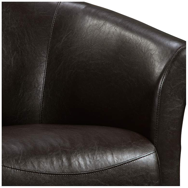 Elements Rocket Rivera Brown Swivel Accent Chair more views