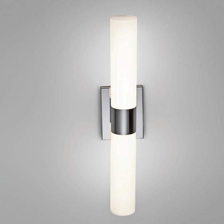 "dweLED Elementum 22"" Wide Chrome LED Bath Light more views"