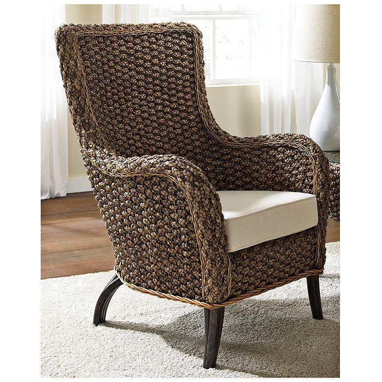 Panama Jack Sanibel Cushioned Rattan Lounge Chair more views