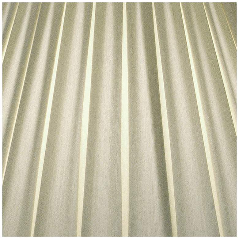 Stiffel Ivory Shadow Box Pleat Empire Shade 8x17x13 (Spider) more views