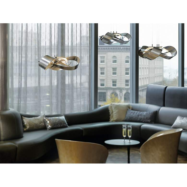 "Flux LED Pendant 26 1/2"" Wide by Hubbardton Forge more views"