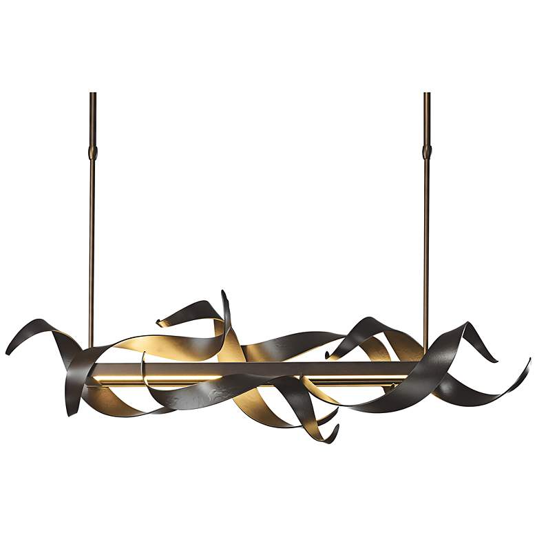 "Hubbardton Forge Folio 38""W LED Kitchen Island Light Pendant more views"