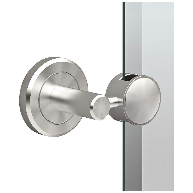 "Gatco Latitude II Satin Nickel 27 1/2"" x 31 1/2"" Wall Mirror more views"