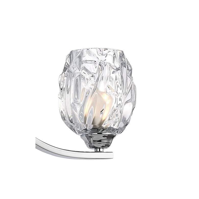 "Feiss Kalli 20"" Wide Chrome 3-Light Bath Light more views"