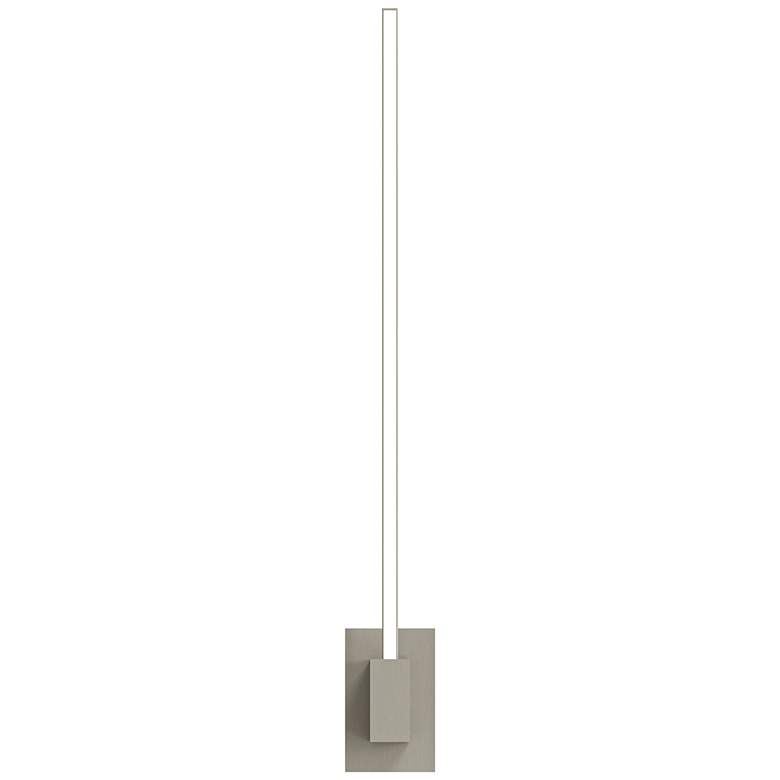"Koncept Z-Bar 24""H Brushed Nickel End-Mount LED Wall Sconce more views"