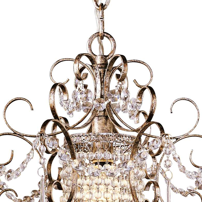 "Minka Lavery French Silver 11"" Wide Mini Chandelier more views"