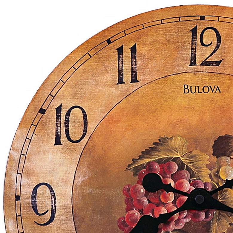 "Bulova Whittingham Decorative 18"" Wide Wall Clock more views"