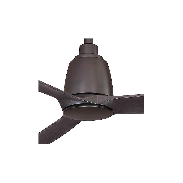 "44"" Fanimation Kute Dark Bronze Damp Ceiling Fan more views"
