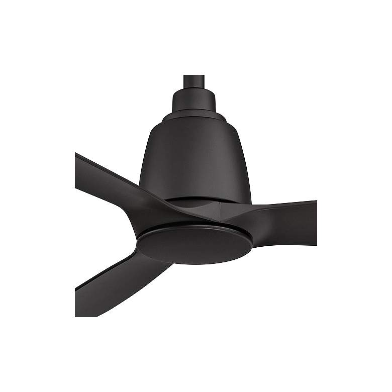"52"" Fanimation Kute Black Damp Rated Ceiling Fan more views"