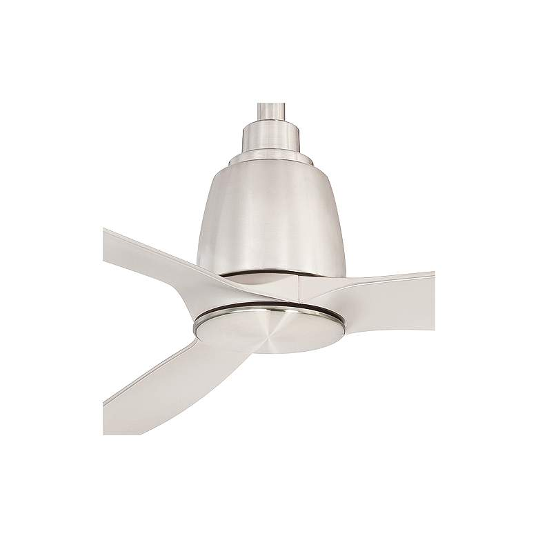 "52"" Fanimation Kute Brushed Nickel Damp Rated Ceiling Fan more views"