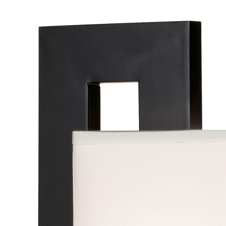 Floating Square Black Modern Table Lamp more views