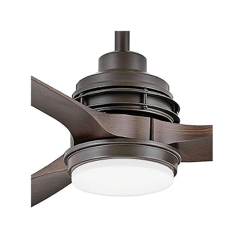 "60"" Hinkley Artiste Matte Bronze LED Wet-Rated Ceiling Fan more views"