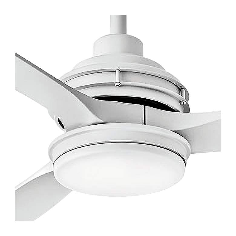 "60"" Hinkley Artiste Matte White LED Wet-Rated Ceiling Fan more views"