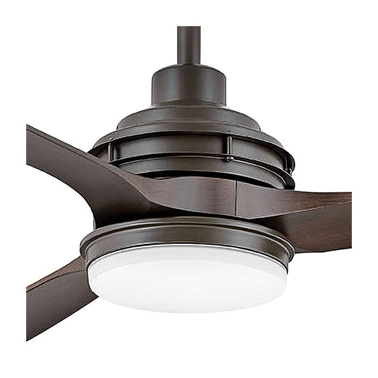 "72"" Artiste Metallic Matte Bronze LED Wet-Rated Ceiling Fan more views"