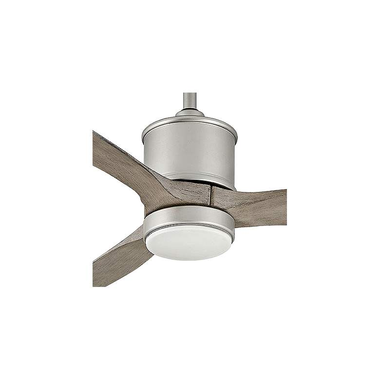 "52"" Hinkley Hover Brushed Nickel Wet LED Ceiling Fan more views"