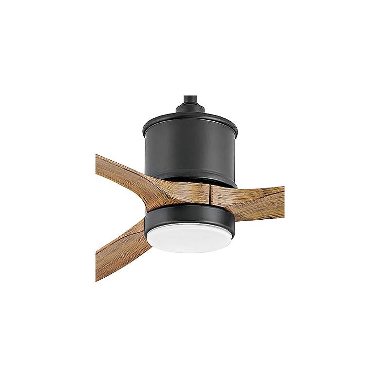 "60"" Hinkley Hover Matte Black Wet LED Ceiling Fan more views"