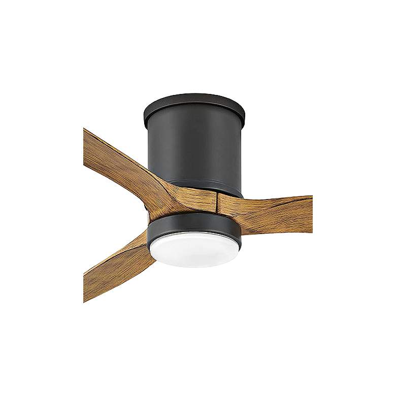 "52"" Hinkley Hover Matte Black Wet LED Hugger Ceiling Fan more views"