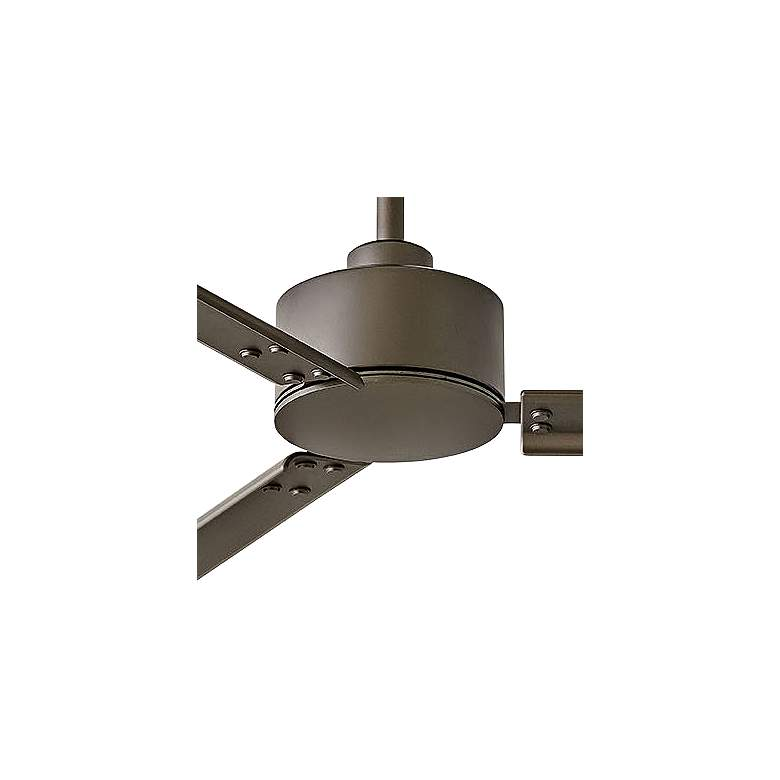 "72"" Hinkley Indy Metallic Matte Bronze Wet Ceiling Fan more views"